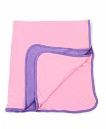 Morisons Baby Dreams Double Layer Baby Blanket - Pink Purple