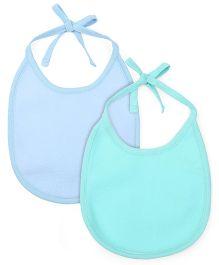 Morisons Baby Dreams Fast Dry Bib Blue Green - Pack Of 2