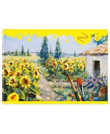 Youva Yellow Drawing Book - Small Size