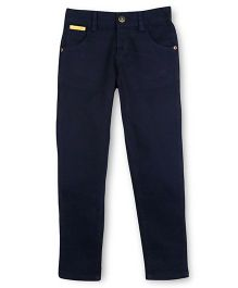 Cherry Crumble California Twill Chinos - Navy Blue