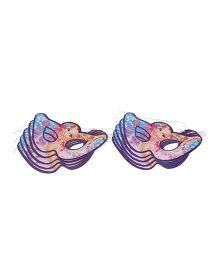 arbie Paper Eye Masks Purple - Pack Of 10