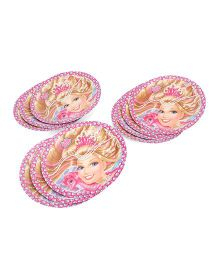 Barbie Paper Plates Pink - Pack Of 10
