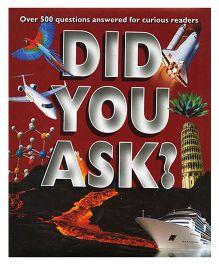 Did You Ask - English