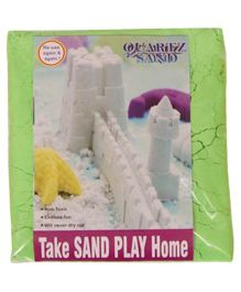 Elefantastik Green Quartz Sand Plus Sand Tool And Tray - 500 Grams