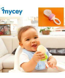 Mycey Safe Feeding Net Food Feeder - Pink