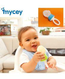 Mycey Safe Feeding Net Food Feeder - Blue