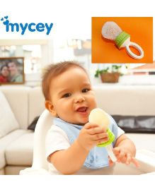 Mycey Safe Feeding Net Food Feeder - Green