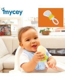 Mycey Safe Feeding Net Food Feeder - Yellow