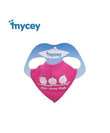 Mycey Cotton Bib Sheep Print - Pink