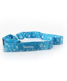 Mycey Feeding Bottle Cord Stars - Blue