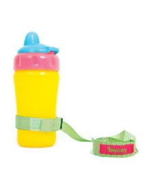 Mycey Feeding Bottle Cord Dots - Green
