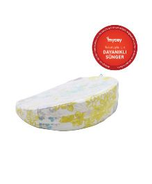 Mycey Pregnancy Support Wedge Pillow Floral Print - White