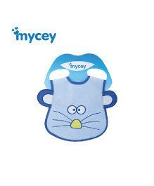 Mycey Bib Animal Print - Blue