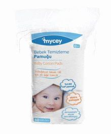 Mycey Baby Cotton Pads - 60 Pieces