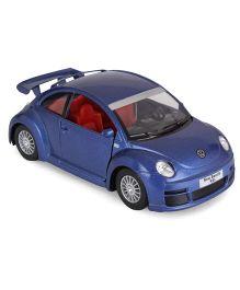 Kinsmart Die Cast Pull Back Volkswagen Beetle Model Car Toy - Blue