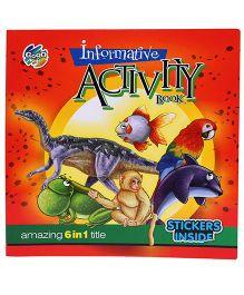 Chitra Informative Activity Book - Multicolor