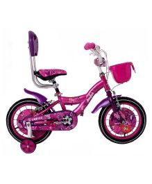 Unirox Angel Bicycle With Training Wheels Pink - 14 Inches