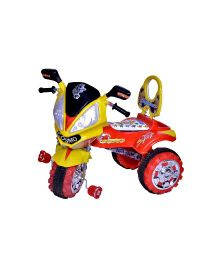 Cosmos Hayabusa Tricycle - Red And Yellow