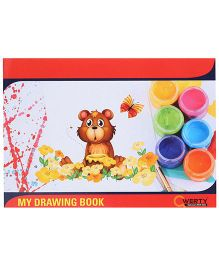Qwerty Small Drawing Book - 36 Pages
