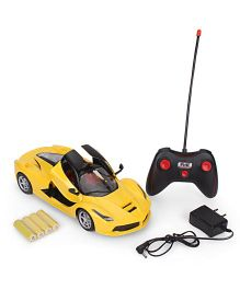 Toymaster Super Car Remote Controlled Car With Remote - Yellow