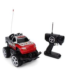 Karma Land Master Remote Controlled Toy Jeep - Red Silver