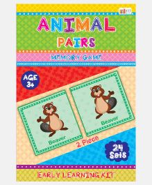 Art Factory Animal Pairs Foam Puzzle - 24 Sets
