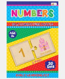 Art Factory Numbers Foam Puzzle - 20 Sets