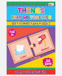 Art Factory Things That Go Together Foam Puzzle - 20 Sets