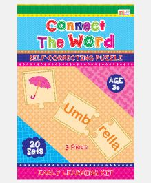 Art Factory Connect The Words Foam Puzzle - 20 Sets