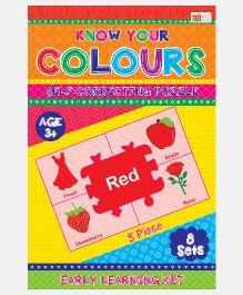 Art Factory Know Your Colours Foam Puzzle - 8 Sets