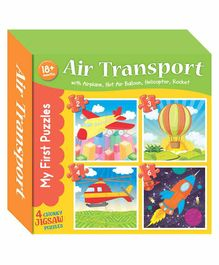 Art Factory Air Transport Jigsaw Puzzles - 4 Pieces