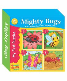 Art Factory Bugs Jigsaw Puzzles - 4 Pieces