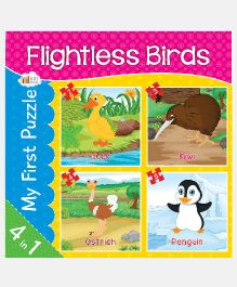 Art Factory Flightless Birds Jigsaw Puzzles - 4 Pieces