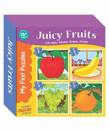 Art Factory Fruits Jigsaw Puzzles - 4 Pieces