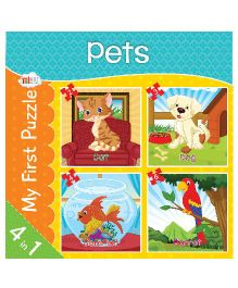 Art Factory Pets Jigsaw Puzzles - 4 Pieces