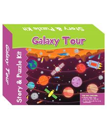 Art Factory Galaxy Tour Story Puzzle - 40 Pieces