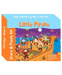 Art Factory Little Pirates Story Puzzle - 40 Pieces