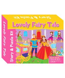 Art Factory Lovely Fairy Tale Story Puzzle - 40 Pieces