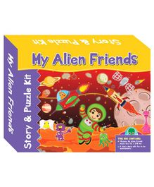 Art Factory My Alien Friends Story Puzzle - 40 Pieces