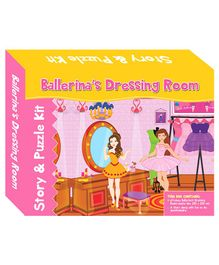 Art Factory Ballerina's Dressing Room Story Puzzle - 64 Pieces