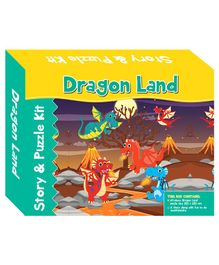 Art Factory Dragon Land Story Puzzle - 64 Pieces