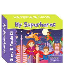 Art Factory My Super Heroes Story Puzzle - 64 Pieces