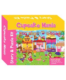 Art Factory Cupcake Mania Story Puzzle - 96 Pieces