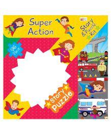Art Factory Super Action Story Puzzle - 96 Pieces