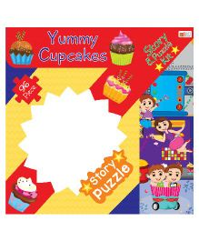 Art Factory Yummy Cupcake Story Puzzle - 96 Pieces