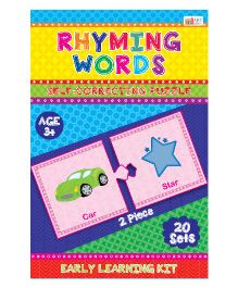 Art Factory Rhyming Words Puzzle - 20 Sets