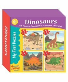 Art Factory My First Puzzle Dinosaurs - Multicolor