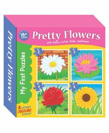 Art Factory My First Puzzle Flowers - Multicolor