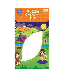 Art Factory Puzzle And Activity Kit Camp Fun - 40 Pieces