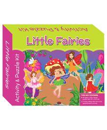 Art Factory Puzzle And Activity Kit Little Fairies - 40 Pieces